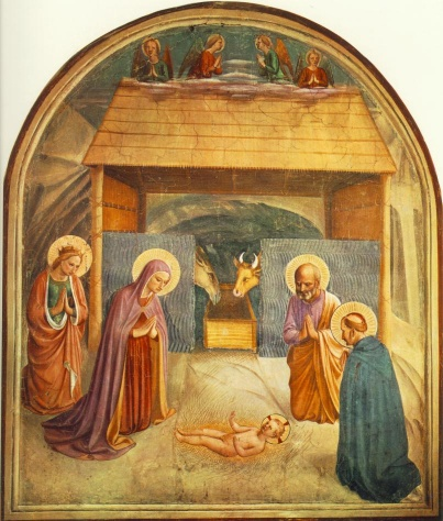 La natività del Beato Angelico